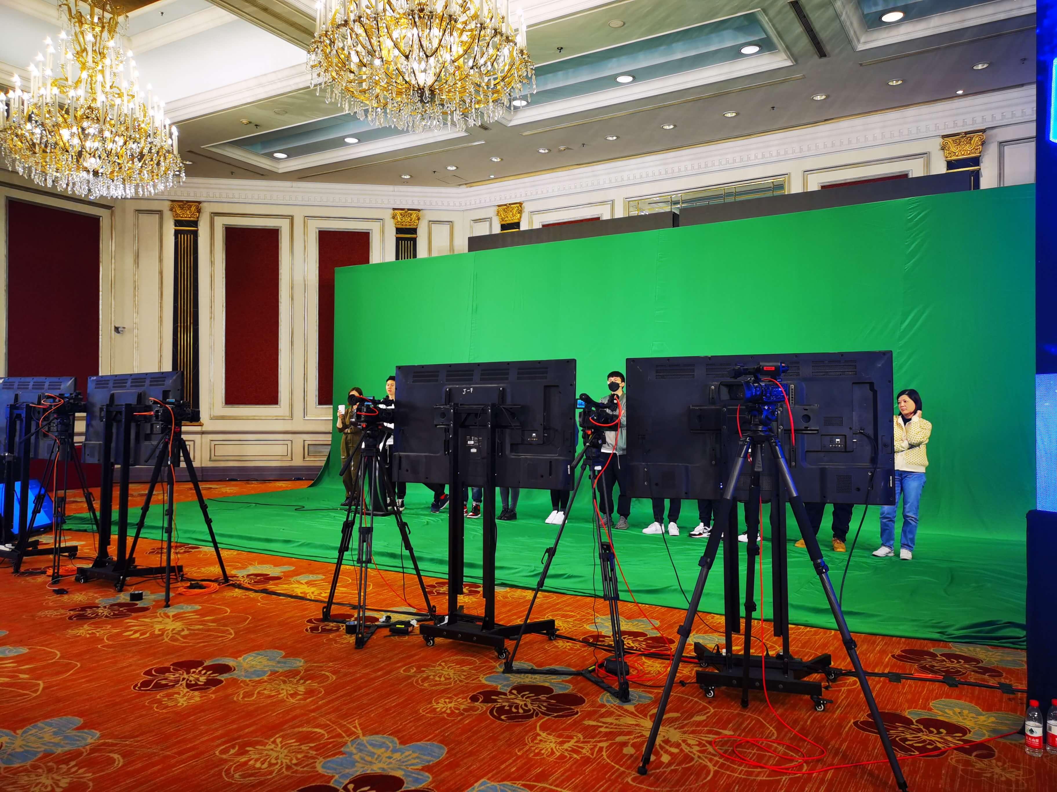绿幕彩排预演